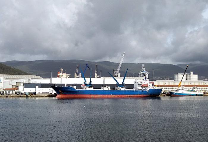 El puerto sigue creciendo en pesca congelada