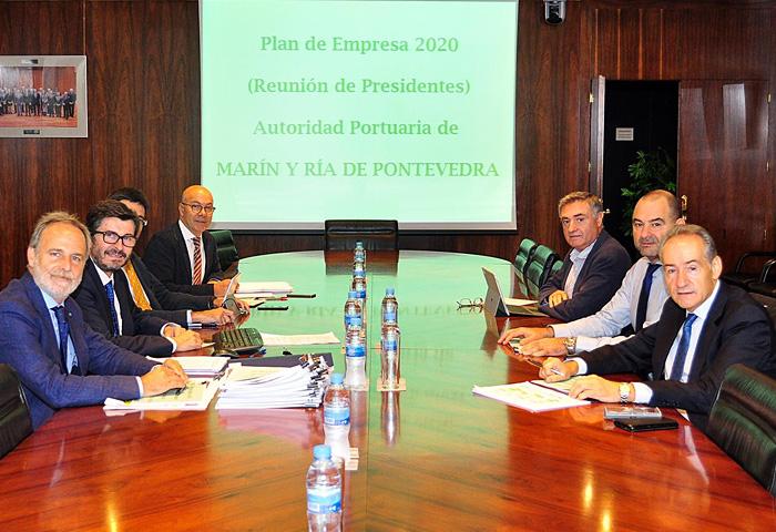 El Puerto presenta su Plan de Empresa ante Puertos del Estado