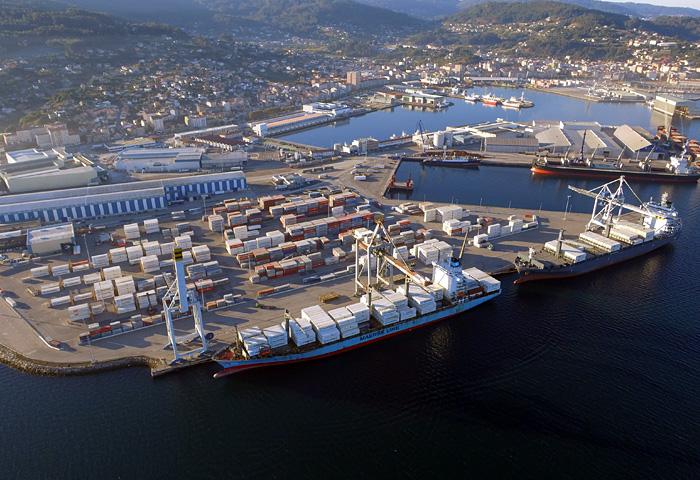 O Porto supera os dous millóns de toneladas no exercicio 2020