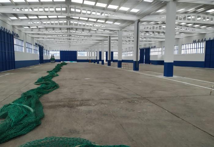 A Autoridade Portuaria pon en servizo o tendedero cuberto de redes tras a súa renovación